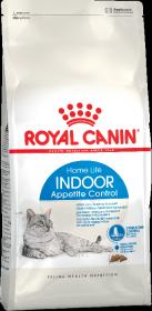 Royal Canin Indoor Appetite Control Корм для кошек, живущих в помещении и склонных к перееданию (400 г)