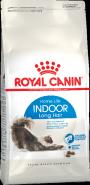 Royal Canin Indoor Long Hair Корм для домашних длинношерстных кошек (400 г)