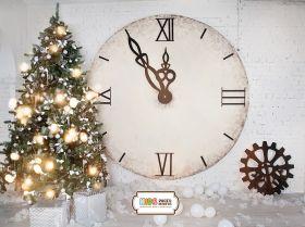 """Фон стена """"Wall clock №1"""""""