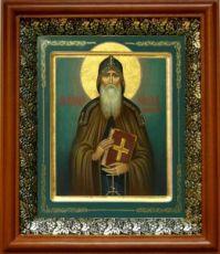 Никон Печерский (19х22), светлый киот