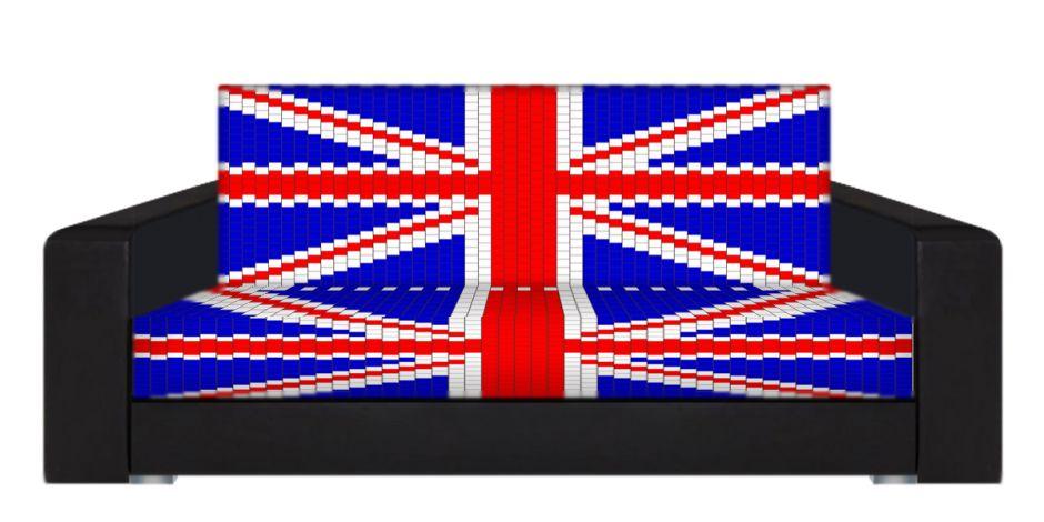 "Диван-книжка фото-принт ""Британский флаг ППУ"""