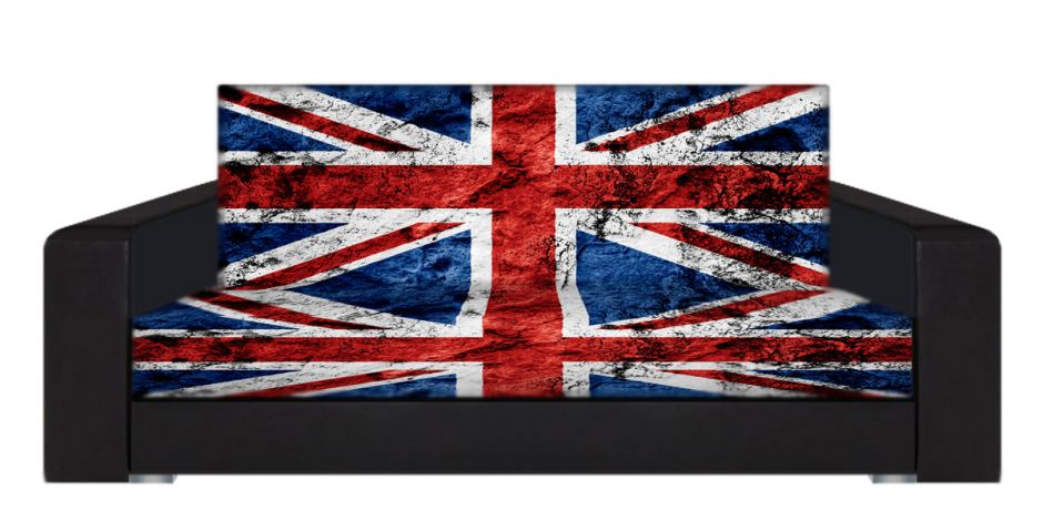 "Диван-книжка фото-принт ""Британский флаг 5"""