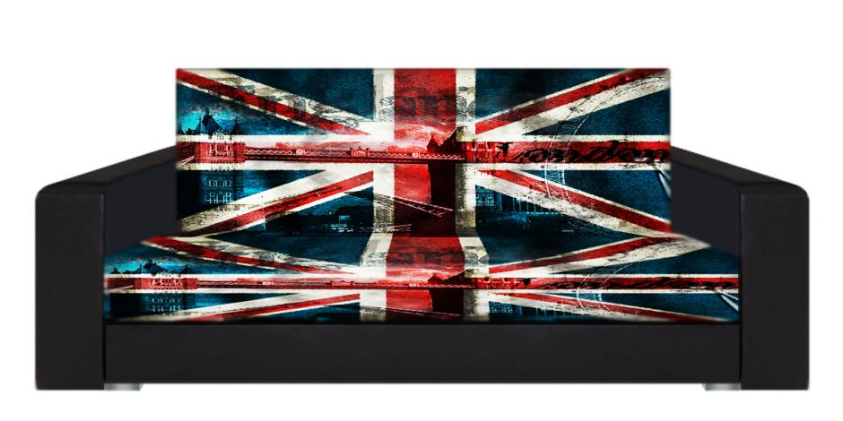 "Диван-книжка фото-принт ""Британский флаг 11"""