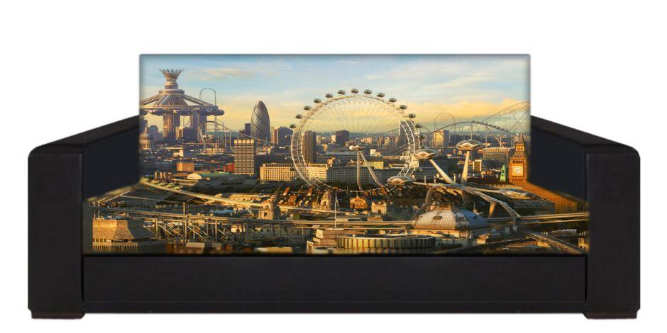 "Диван-книжка фото-принт ""Лондон 2"""