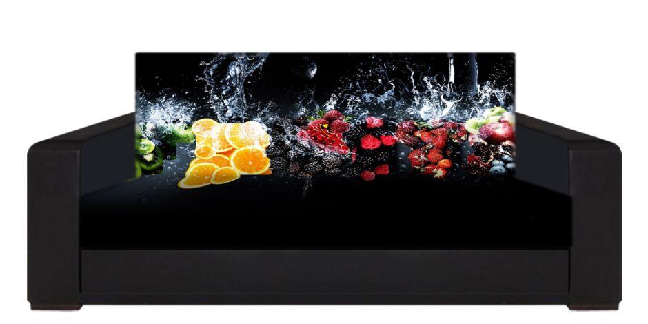 """Диван-книжка фото-принт """"фрукты 1"""""""