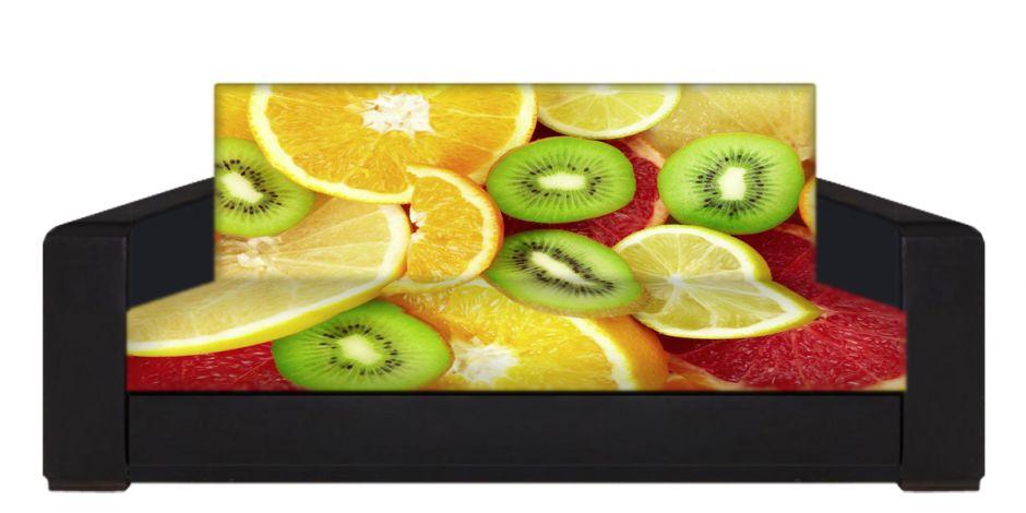 """Диван-книжка фото-принт """"фрукты 4"""""""