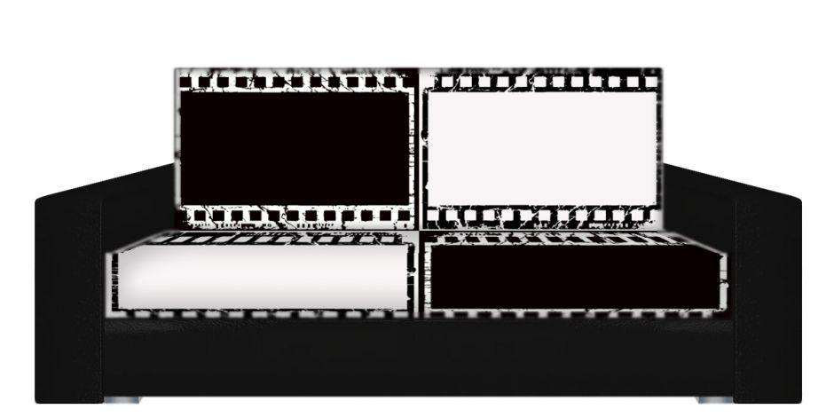 """Диван-книжка фото-принт """"кино 2"""""""