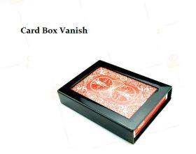 Исчезновение колоды карт Card Box Vanish