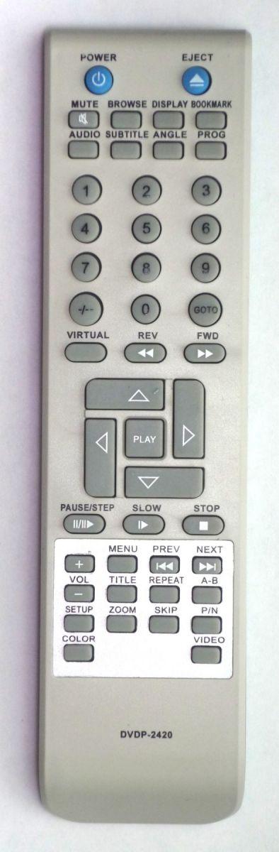 Elenberg DVDP-2417, DVDP-2420 пульт для DVD-плеера