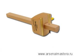 Рейсмус разметочный деревянный Marples Marking Beech Gauge, полукруглый, пластиковый винт, 1 игла М00006226