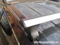 Багажник на крышу Mazda CX-9, Атлант, крыловидные аэродуги
