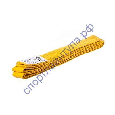 Пояс для кимоно Roomaif желтый 240 см
