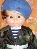 Кукла Митя Военный Весна