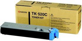 TK-520C Тонер-картридж  оригинальный  Kyocera cyan