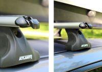 Багажник на крышу Mazda CX-9, Атлант, аэродинамические дуги, опора E