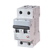 Автоматический выключатель TX3 тип С 63A 2-полюсный 6кА