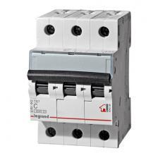 Автоматический выключатель TX3 тип С 20A 3-полюсный 6кА