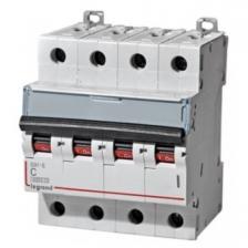 Автоматический выключатель DX3 тип С 50А 4-полюсный 6кА