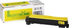 Тонер-картридж оригинальный KYOCERA-MITA TK-560Y 10000 стр. Yellow