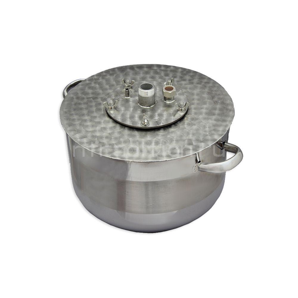 Куб для дистилляции/ректификации ХД/4-14В (внешний нагрев)