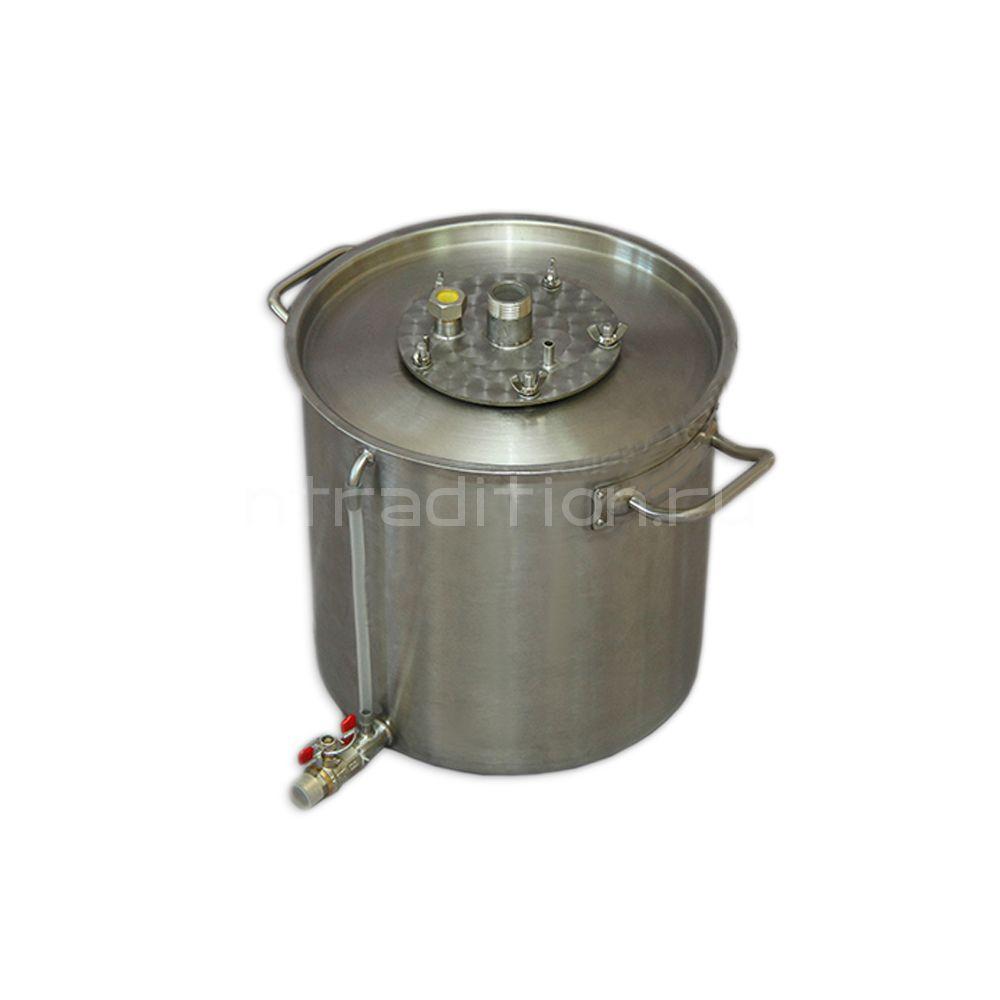Куб для дистилляции/ректификации ХД/4-20В (внешний нагрев)
