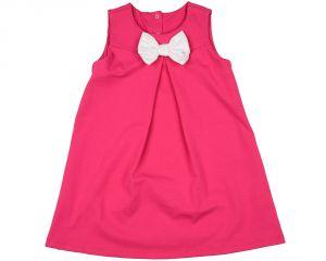 Платье сарафан для девочки розовое Мини Макси