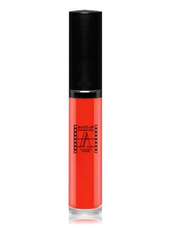 Make-Up Atelier Paris Long Lasting Lipstick RW03 Блеск - тинт для губ суперстойкий (красный) натуральный красный