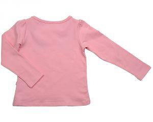 Розовая трикотажная кофточка для девочки в комплекте 0425