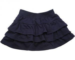 Пышная юбка для девочки синего цвета