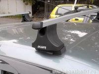 Багажник на крышу Nissan Almera Classic, Атлант, прямоугольные дуги