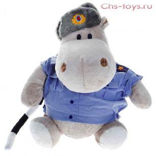 Бегемот полицейский,30 см, арт.МА2640/30J