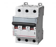 Автоматический выключатель DX3 тип С 63А 3-полюсный 6кА