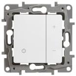 Светорегулятор кнопочный 400Вт Legrand Etika (Белый)