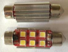Led лампа высокой мощности в салон автомобиля 12 - 24 V/DC, 39 мм