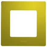 Рамка 1 пост Legrand Etika (Зеленый)