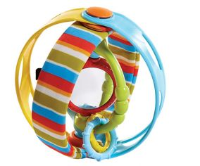 Развивающая игрушка «Вращающийся бубен Rock & Ball»