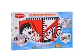 Двусторонняя книжка-раскладушка для новорожденных.