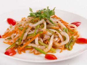 Салат с кальмаром по Сычуаньски 400г
