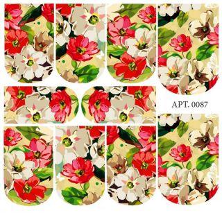 Слайдер-дизайн для ногтей № 0087