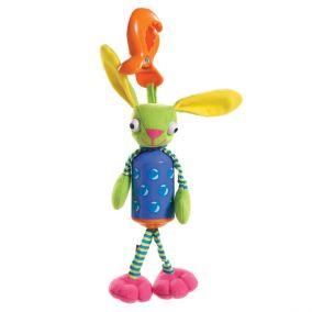 Развивающая игрушка зайчик-колокольчик «Бани»