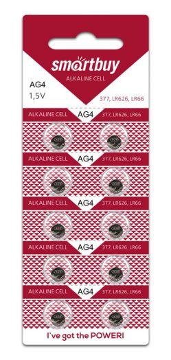 Батарейка часовая Smartbuy AG4-10B