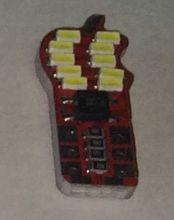 Автомобильная Led лампа, габарит, 10 диодов с каждой стороны 12 V/DC