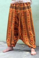 Мужские хлопковые штаны алладины cимвол ОМ, купить в Москве