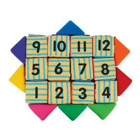 """Кубики мягкие """"Учись, играя"""""""