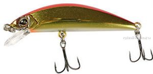 Воблер Jackall Tricoroll 83F  83 мм / 6,2 гр /плавающий / цвет:  haku red & gold