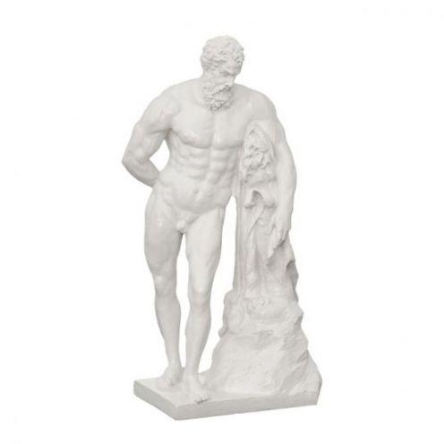 Статуэтка Геракл белая