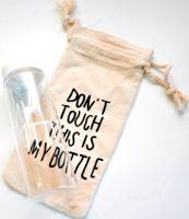 My Bottle 500 мл с мешочком - белая