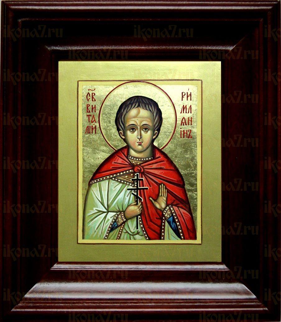 Виталий Римлянин (21х24), простой киот