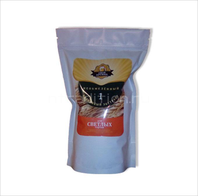 Солодовый экстракт для светлых сортов Неохмеленка (1 кг)