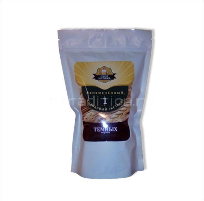Солодовый экстракт для темных сортов Неохмеленка (1 кг)